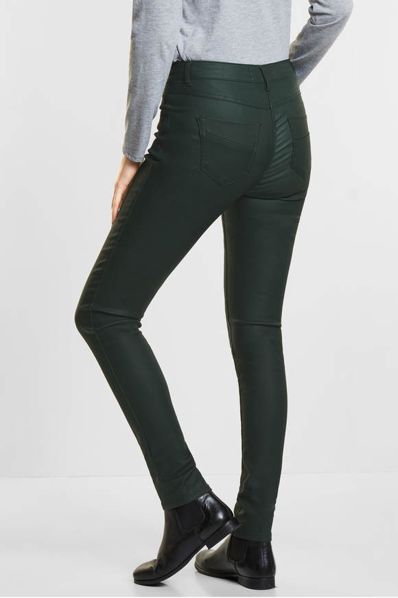 Cecil. Gecoate tight fit Victoria bottle Groen