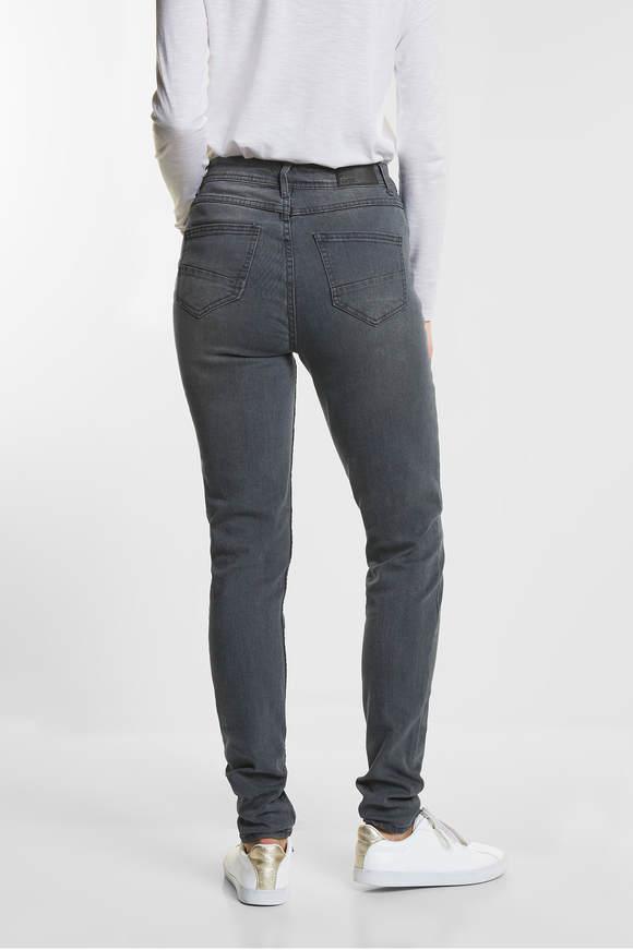 Cecil. Tight fit jeans Toronto Grijs wash