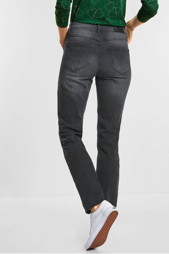 Cecil. Tight fit jeans Toronto mid Grijs wash