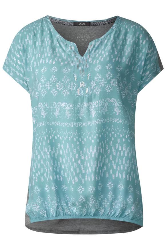Shirt im Tunika Style - gingermint grün