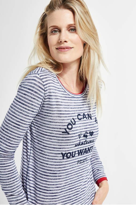 176731cab237 T-Shirts   Tops in trendigen Farben   Dessins - CECIL Online Shop