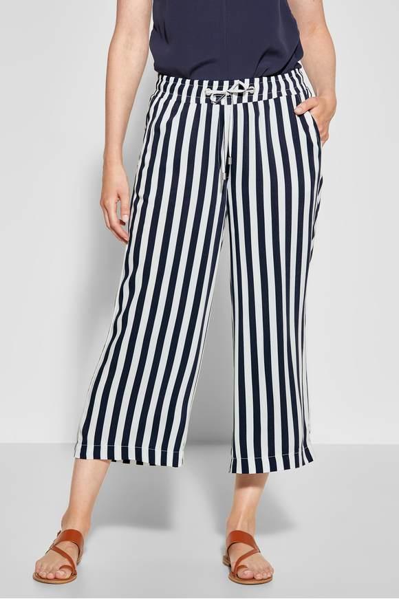 2185f5a5933cf4 Jupe-culotte avec rayures - deep blue