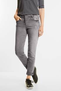 Washed Grey Denim Scarlett