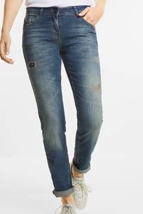 Patches-jeans Charlize
