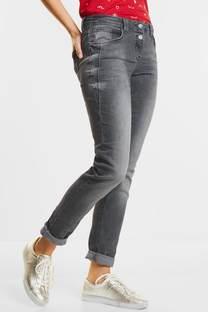 Grijze jeans Scarlett