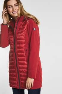 Manteau long en softshell