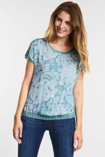 Oriental-Print Shirt Alara