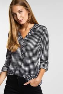 Geruite blouse Juliet