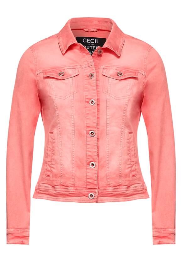 Veste en jean de style coloré