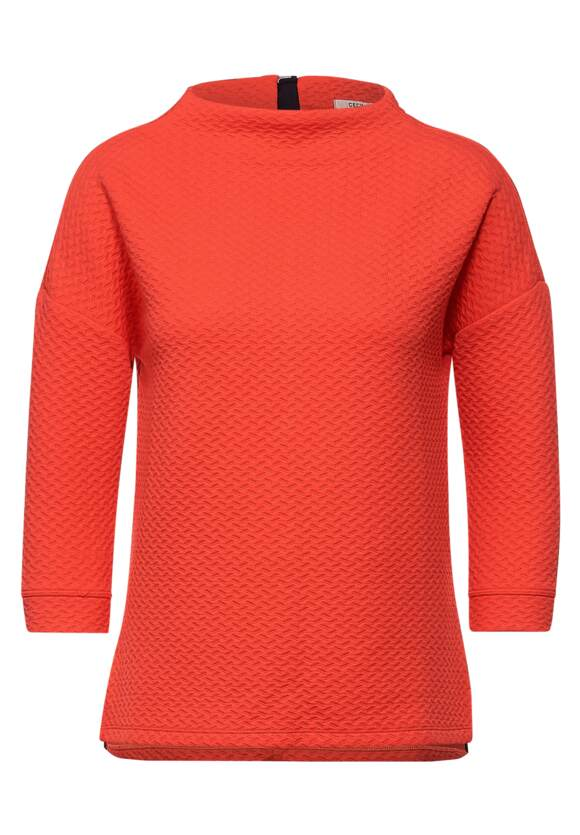 Sweatshirt avec texture