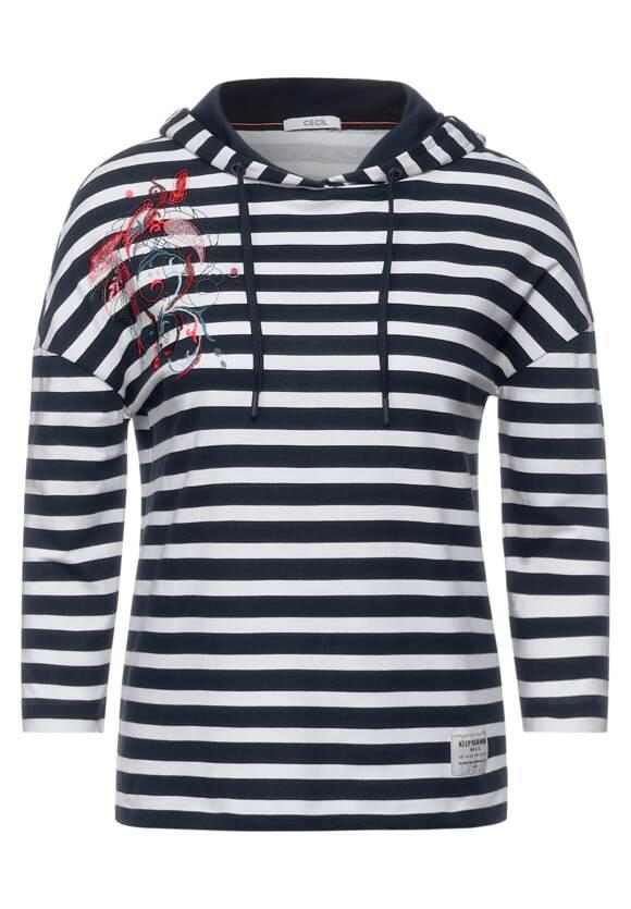 Shirt in hoodie stijl