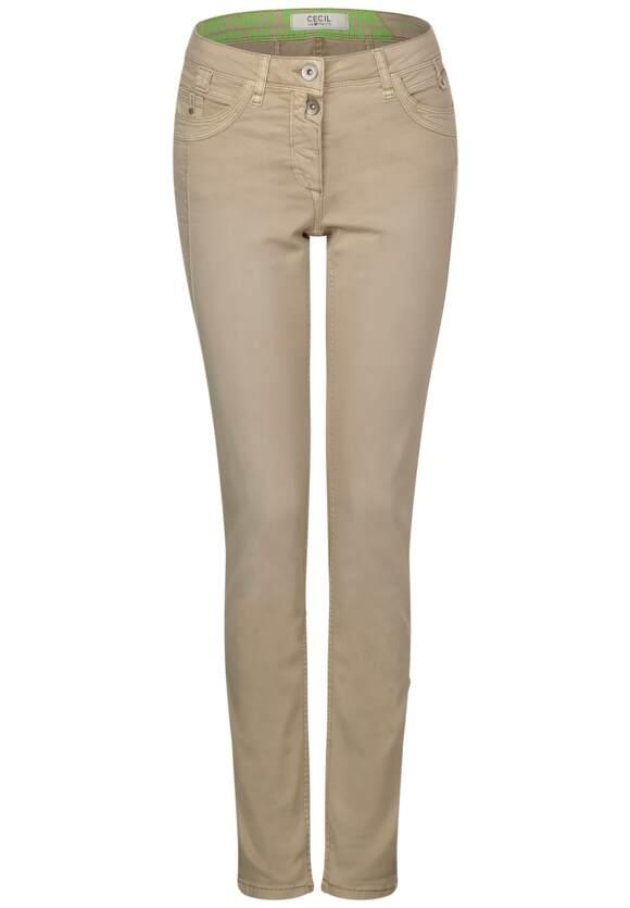 Pantalons coloré coupe décontractée