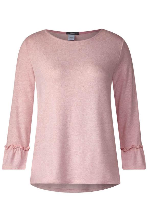 14c75651b70 Cosy Shirt mit Rüschenärmeln