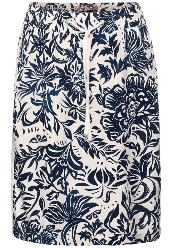 Korte rok met patroon