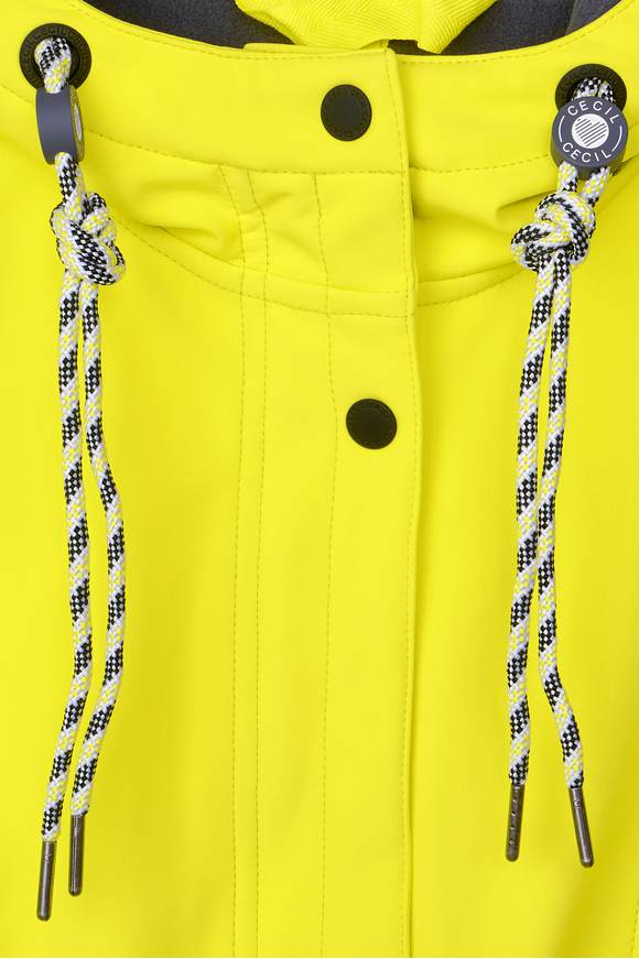 various styles 2018 sneakers new arrival Sportliche Softshell-Jacke - ultra yellow