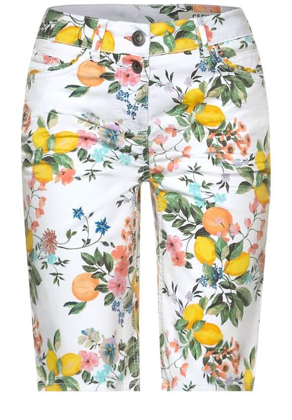 Loose fit shorts met print