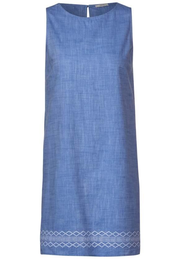 Kleid mit Ethno Stickerei blouse blue