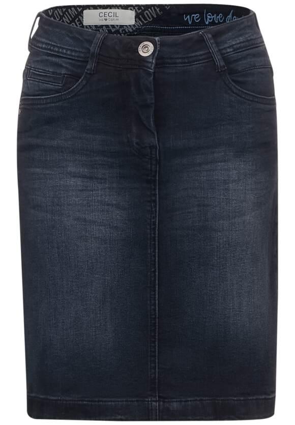 Donkerblauwe spijkerrok