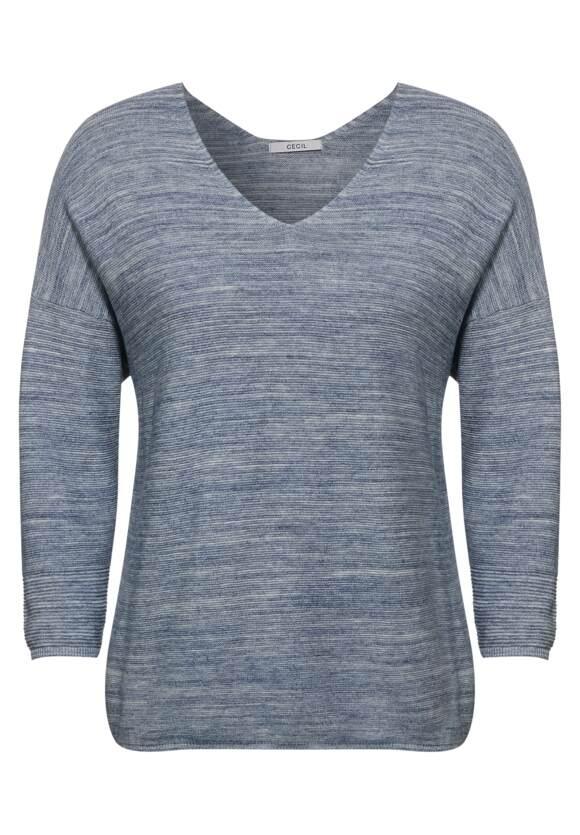 Pullover met V hals