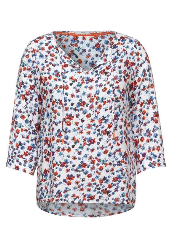 Cecil Blouse met minimalistisch patroon