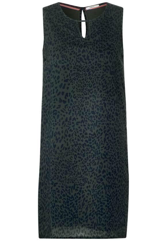 Robe en mousseline avec léopard