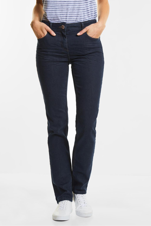 regular fit jeans toronto rinsed wash cecil online shop. Black Bedroom Furniture Sets. Home Design Ideas