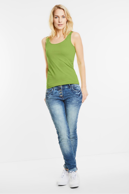 Cecil jeansjacke juicy green